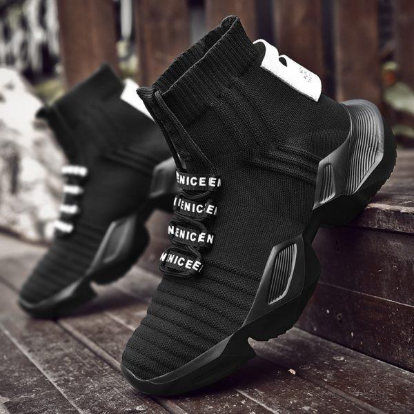 Stylové pánské protiskluzové ponožkové boty