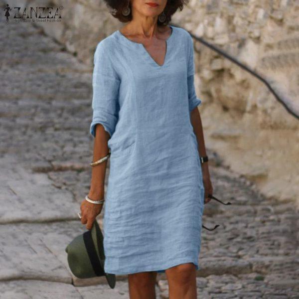 Dámské volnočasové šaty nad kolena Miranda