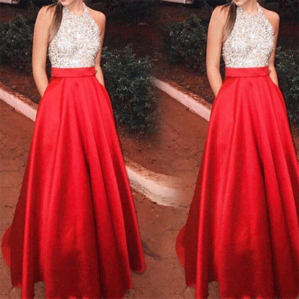 Luxusní dámské plesové šaty Elena