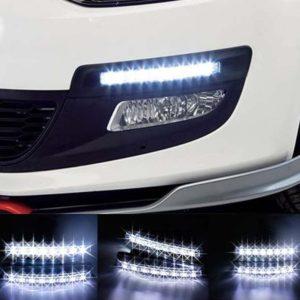 DRL světla pro denní svícení 2x 8 LED