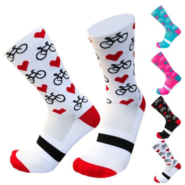 Legrační pohodlné cyklistické ponožky - více variant