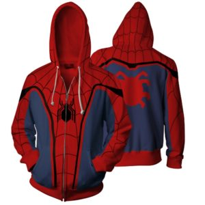 Pánská pohodlná mikina - Spiderman