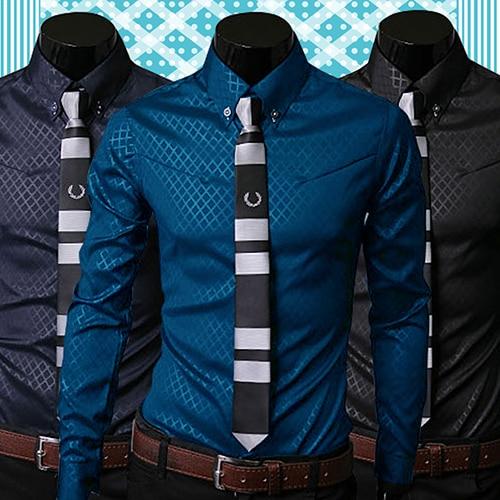 Moderní pánská košile v luxusním business stylu