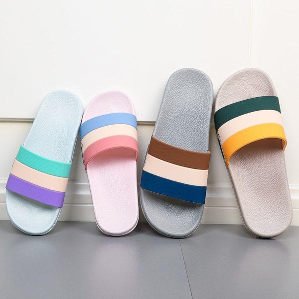Pánské letní pantofle s popruhy