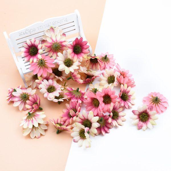 Vícebarevné dekorativní sedmikrásky - 10 kusů