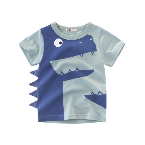 Dětské stylové tričko s Dino bodlinky