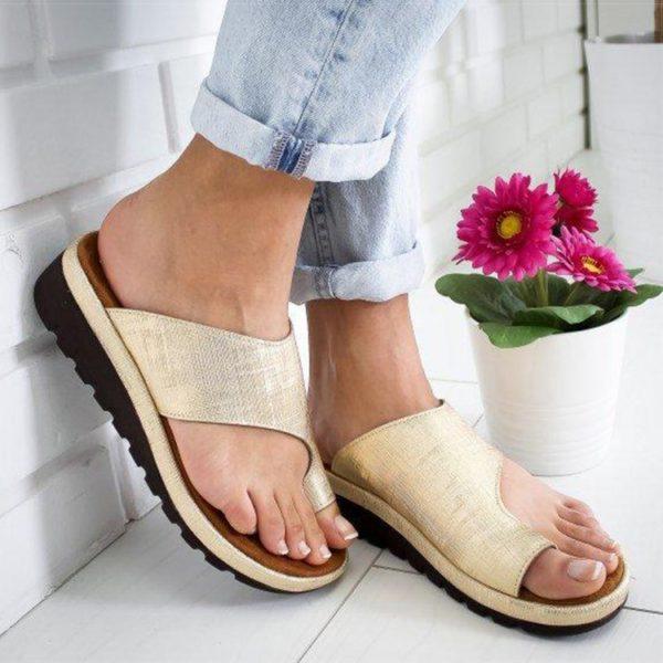 Dámské sandály na vyšší platformě
