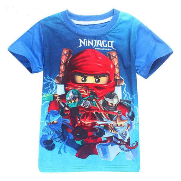 Letní zábavné chlapecké tričko Ninjago