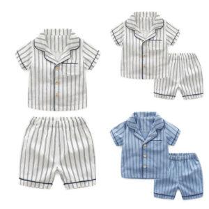 Dětské letní košilové pyžámko