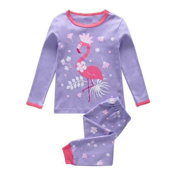 Dívčí dlouhý pyžamový set