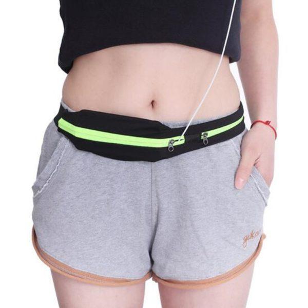 Sportovní ledvinka s 2 kapsami na telefon a ostatní nezbytnosti