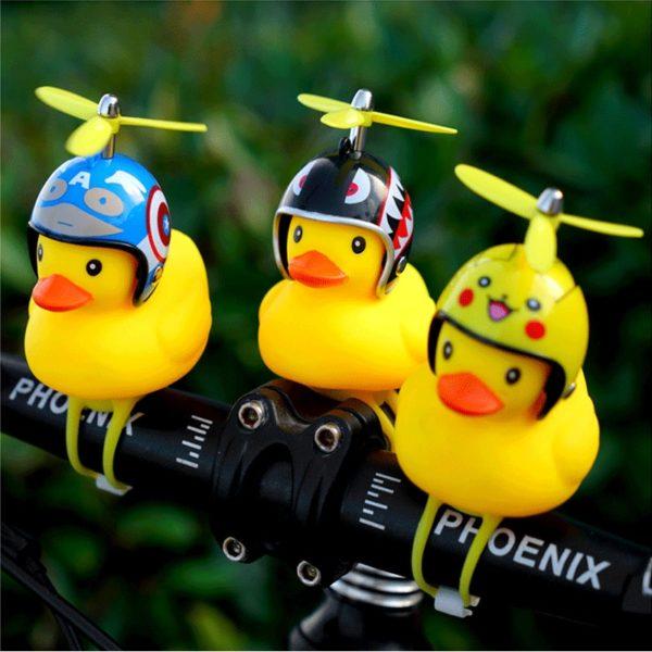 Roztomilý zvonek na dětské kolo v podobě kachničky