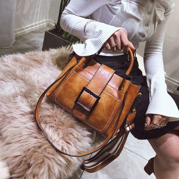 Vintage dámská kabelka přes rameno