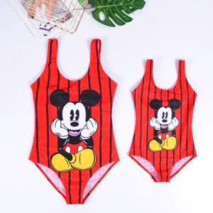 Super roztomilé plavky pro maminku a dcerku Mickey
