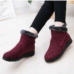 Dámské zimní boty na zip