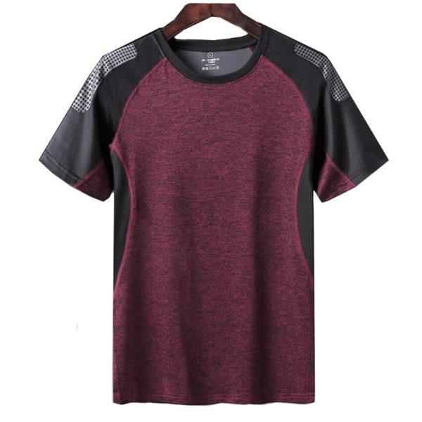 Rychleschnoucí sportovní bavlněné pánské tričko