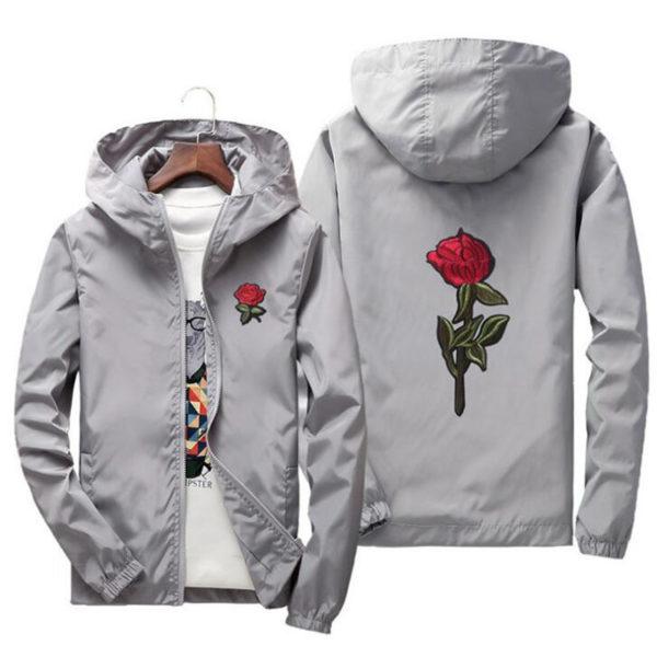 Pánská bunda s motivem růže Lewis