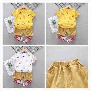Chlapecký letní ananasový set