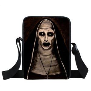Unisex kabelka přes rameno s hororovými motivy
