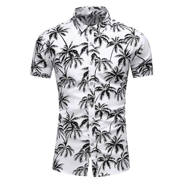 Pánské letní košile s krátkým rukávem