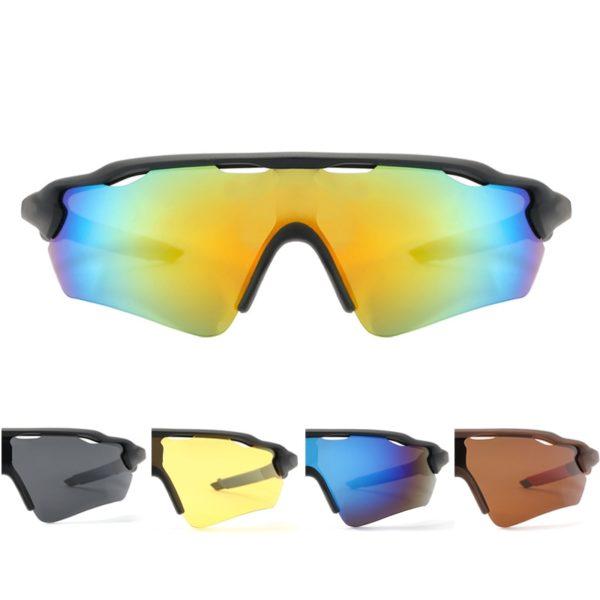 Pánské ochranné cyklistické brýle polarizované