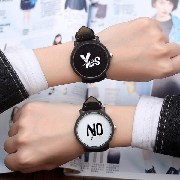 Luxusní ležérní unisex hodinky
