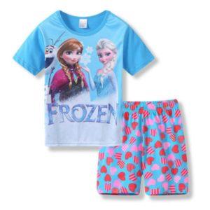 Dětské letní pyžámko Frozen
