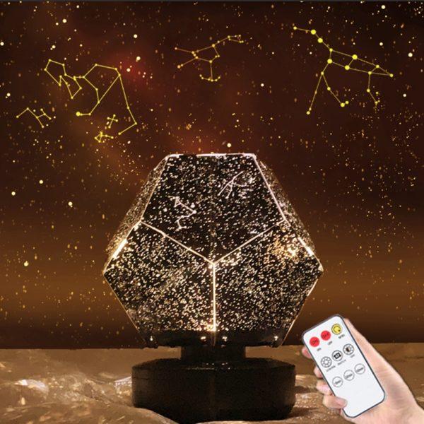 LED projektor noční galaxy oblohy