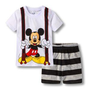 Dětské letní pyžámko Mickey & Minnie
