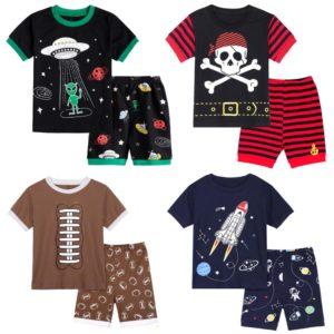 Chlapecký stylový letní pyžamový set
