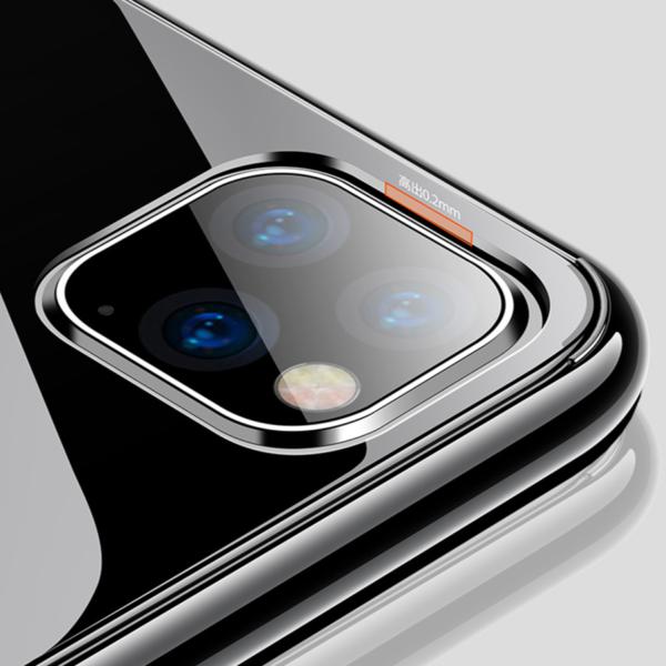 Ultra tenký čirý zadní kryt pro iPhone
