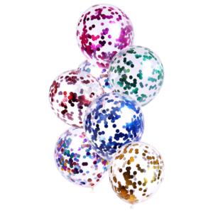 Set párty balonků naplněné konfetami