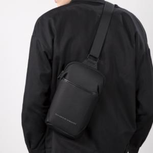 Módní pánská mini crossbody taška přes rameno