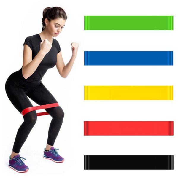 Sportovní gumové elastické pásy