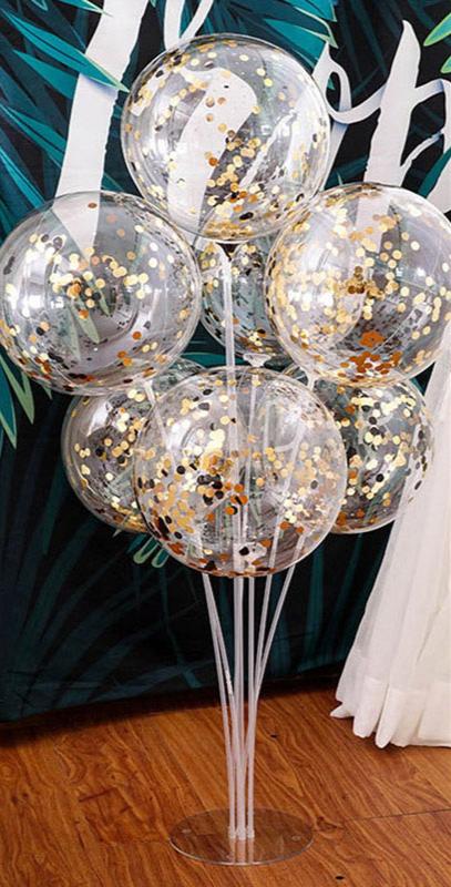 Plastové držáky na balónky