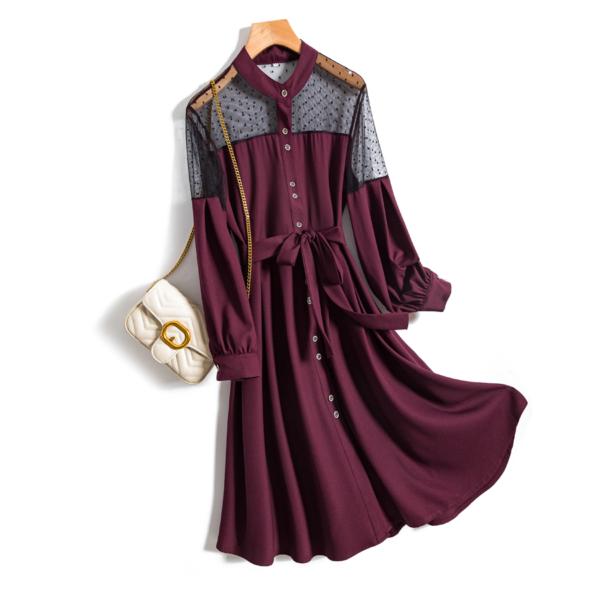 Nádherné síťované šaty Bianca