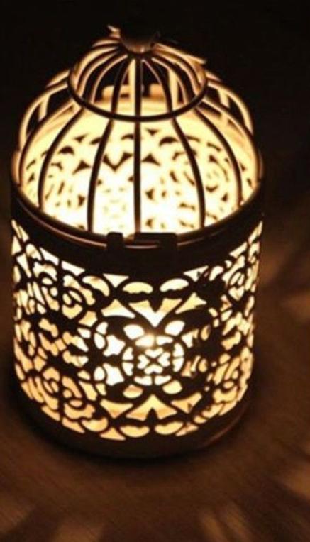 Romantické lucerničky na svíčky