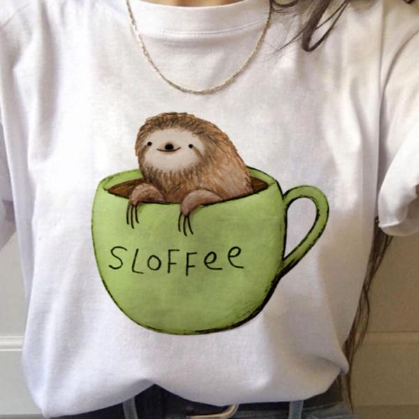 Roztomilé tričko s lenochodem