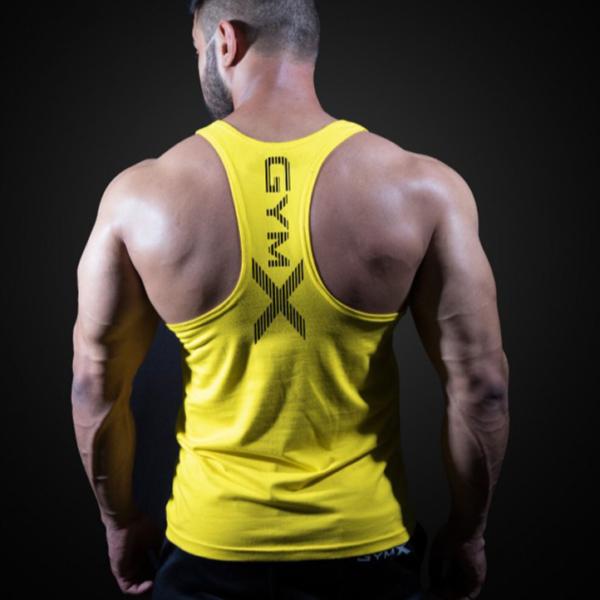 Pánské moderní fitness tílko Gym X