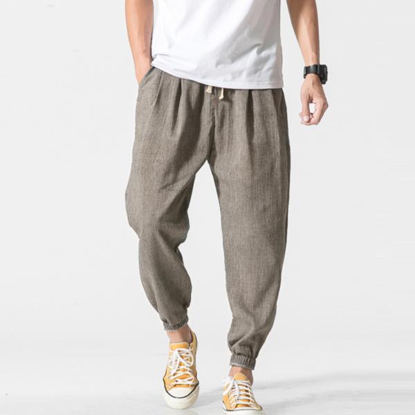 Pánské trendy letní joggers kalhoty Bruno