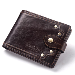 Pánská kožená praktická peněženka