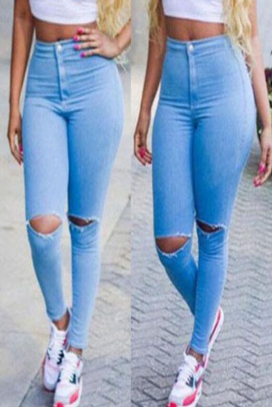 Dámské módní Skinny kalhoty
