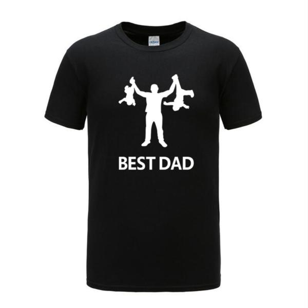 Pánské vtipné triko s potiskem Best Dad