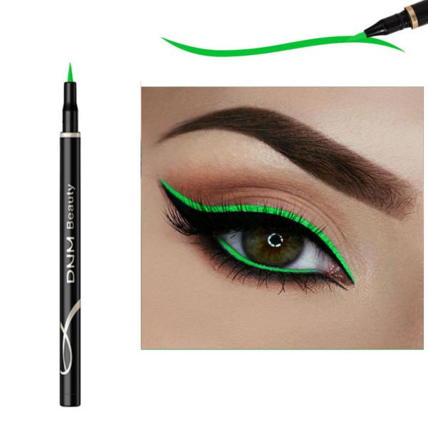 Dlouhotrvající voděodolné barevné linky na oči