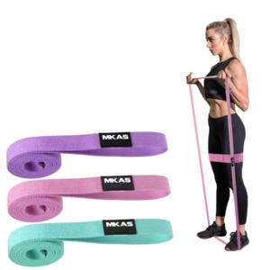 Odporová guma na cvičení pastelové barvy