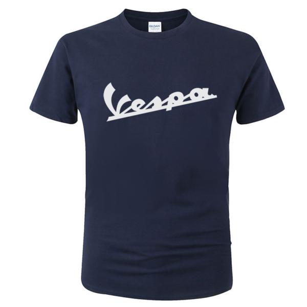 Pánské vtipné tričko Vespa s bílým potiskem