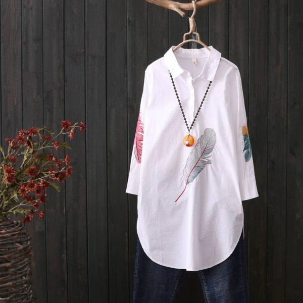 Dámská neformální dlouhá košile Monica