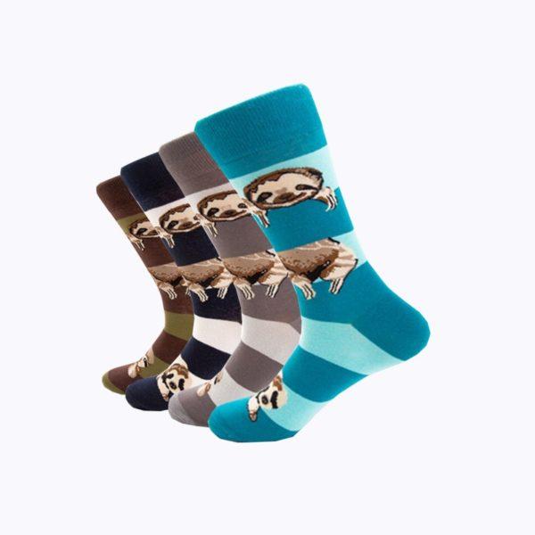 Pohodlné pánské ponožky s vtipným potiskem
