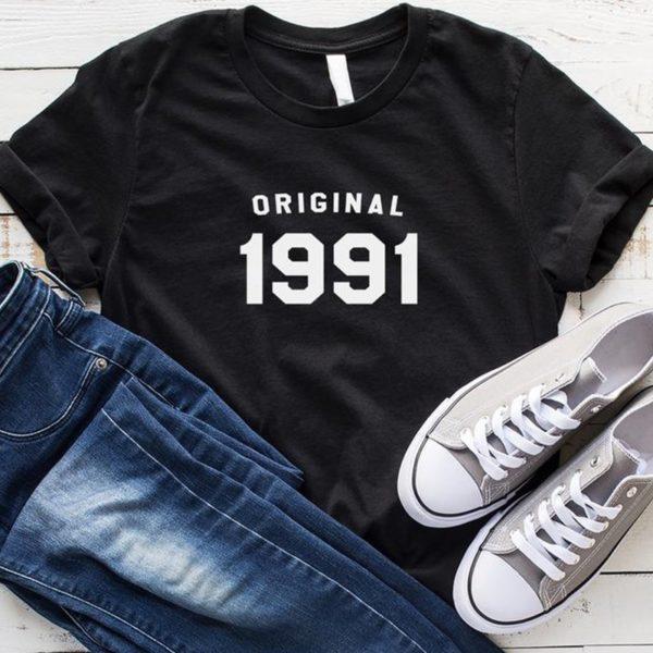 Stylové triko s potiskem 'Original 1990'