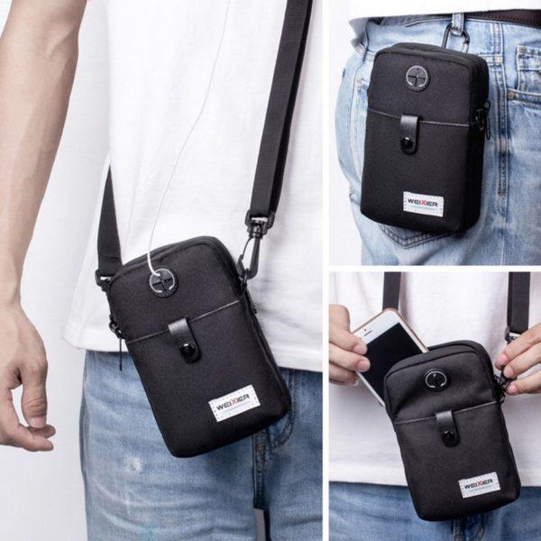 Pánská módní crossbody taška přes rameno